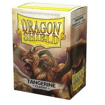 Dragon Shield Standardgröße  - Tangerine Classic 100
