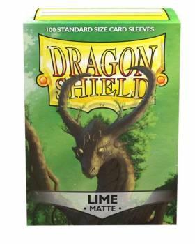 Dragon Shield Standardgröße  - Lime Matte 100