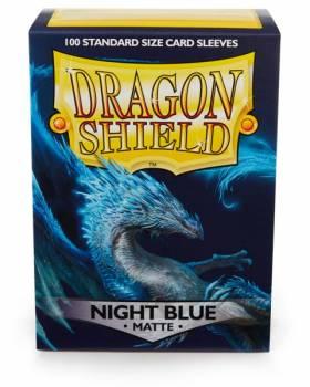 Dragon Shield Standardgröße  - Night Blue Matte 100