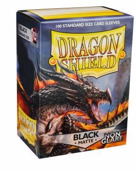 Dragon Shield Standardgröße  - Black Matte 100 - Non Glare