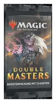 Double Masters Booster (Englisch)
