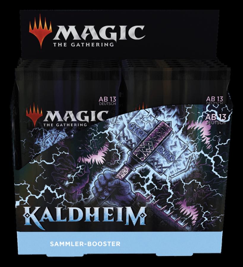 Kaldheim Collector Booster Display (Deutsch)