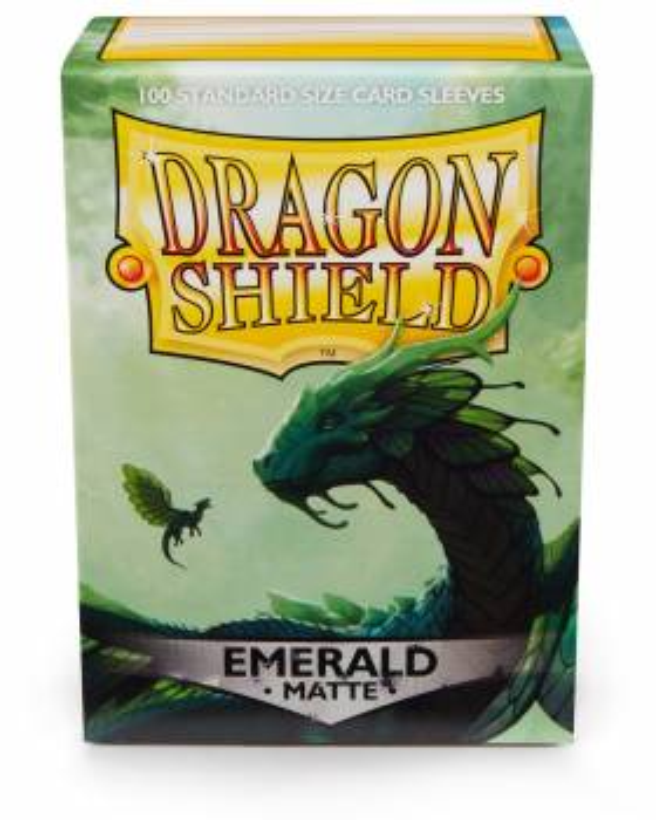 Dragon Shield Standardgröße  - Emerald Matte 100