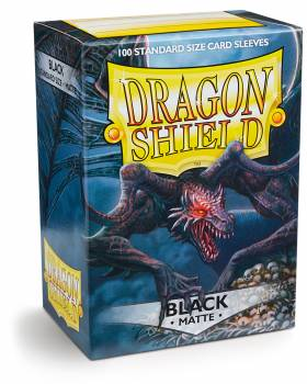 Dragon Shield Standard Sleeves - Matt schwarz - 100