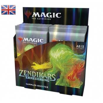 Zendikar Rising Collector Booster Display (Englisch)