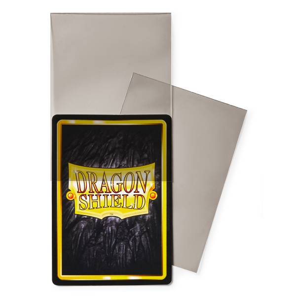 Dragon Shield Perfect Fit Sleeves - Smoke (100 Sleeves)